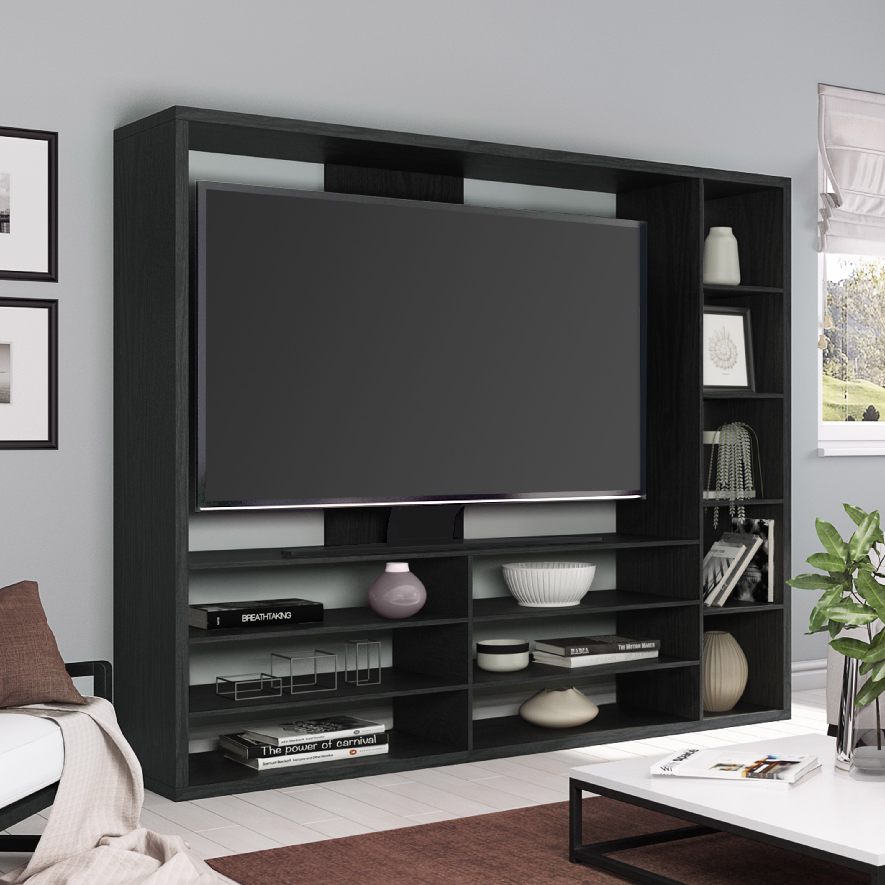 Tvs Up To 55 Ideal Tv Stand, Living Room Entertainment Center