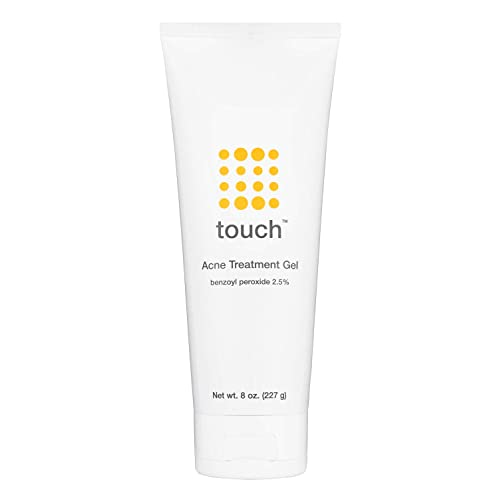 Touch Benzoyl Peroxide 2 5 Acne Treatment Cream Serum Pimples And Cystic Acne Spot Treatment