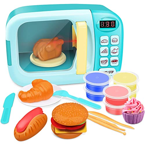 Growthpic Toy Kitchen Microwave Play