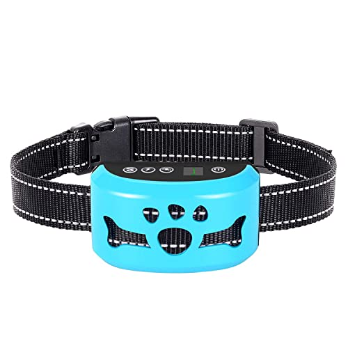 Best Electric No Bark Collar for Small Medium Large Dogs Pets /… Dog Training Collar IP67 Waterproof /& Rechargeable Remote Pet Dog Shock Collar with Beep 100 Level Shock//Vibration Collars
