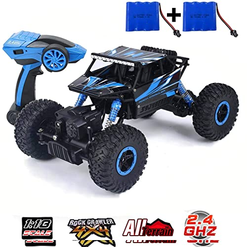 Szjjx Rc Cars Rock Off Road Vehicle 2 4ghz 4wd High Speed 1 18