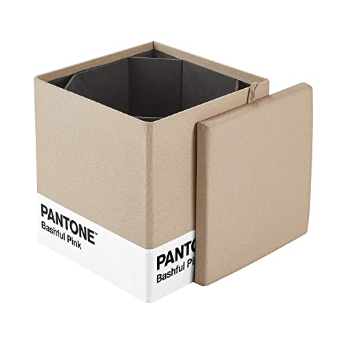 Excellent Buy Kvell X Pantone Storage Ottoman Bashful Pink With Ubuy Forskolin Free Trial Chair Design Images Forskolin Free Trialorg