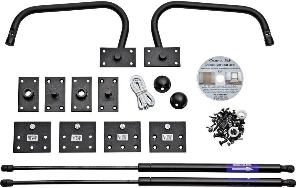 Twin Size Deluxe Murphy Bed Kit, Twin Size Murphy Bed Hardware Kit