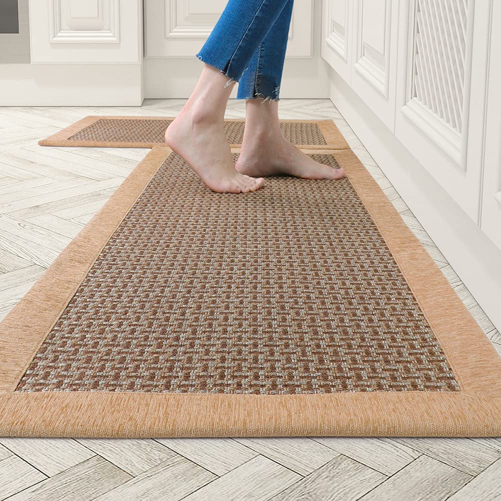 Buy Kitchen Rugs and Mats Non Skid Washable, Absorbent Rug for ...