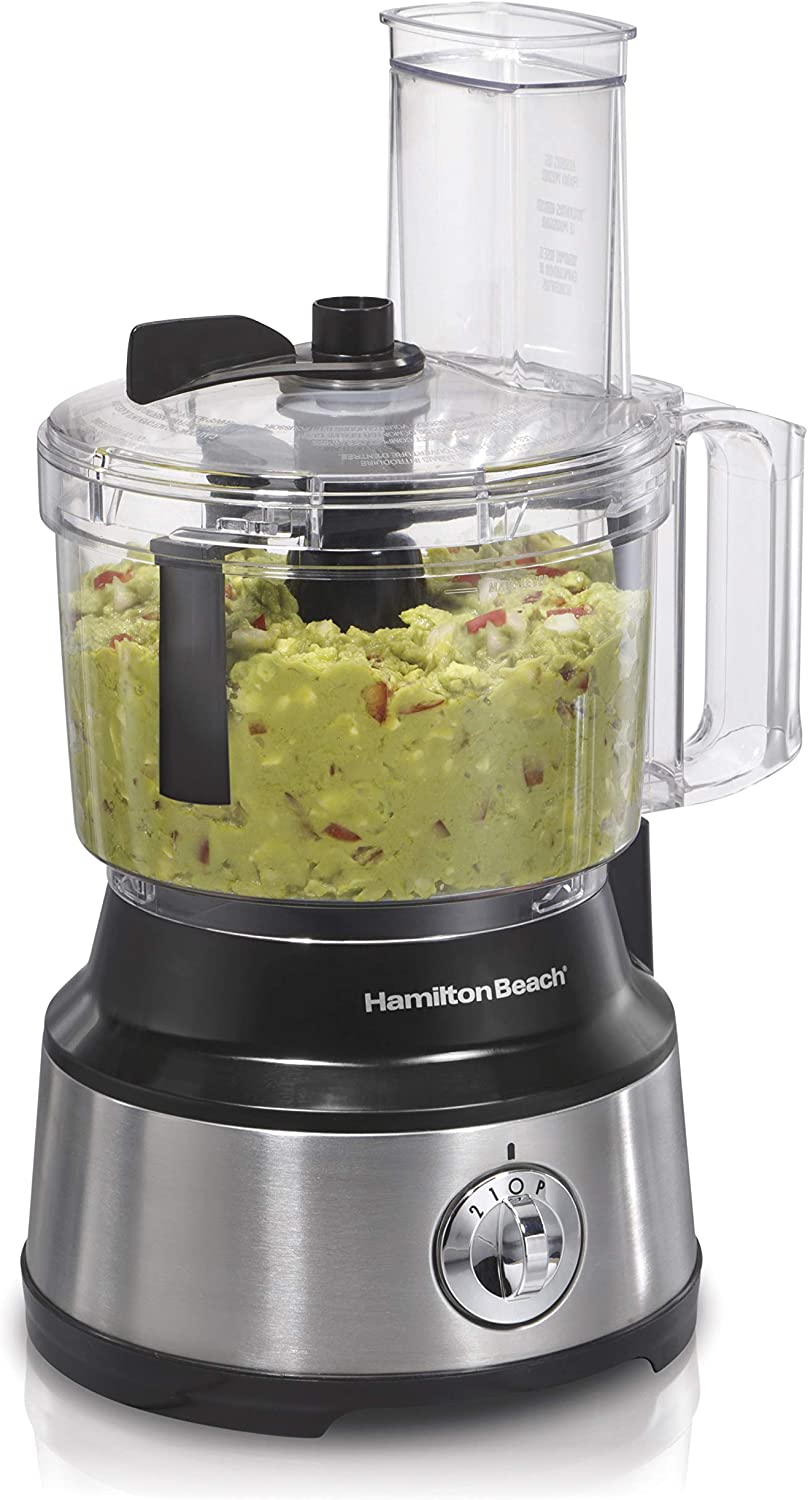 Buy Hamilton Beach Food Processor Vegetable Chopper For Slicing Shredding Mincing And Puree 10 Cups Bowl Scraper Stainless Steel Online In Vietnam B008j8mjiq